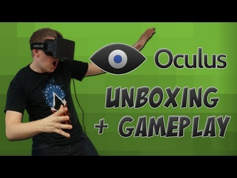 Oculus Rift Unboxing + TF2 Gameplay