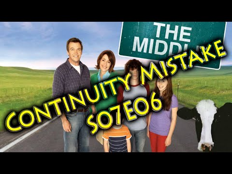 The middle - Continuity Mistake - S07E06