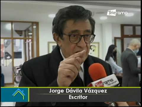 Festival de la Lira rinde homenaje al escritor Jorge Dávila Vázquez