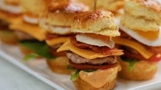 Petit Breakfast Sandwich Recipes For Your BIG Appetite! by Tastemade