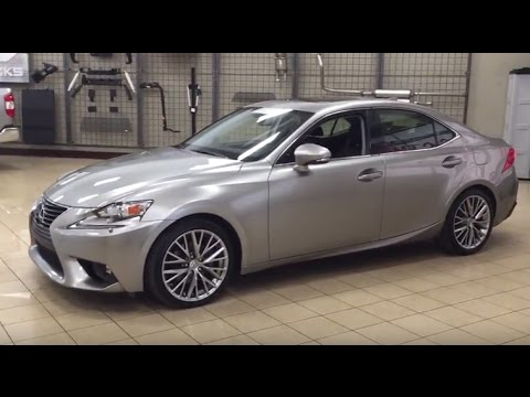 Pre-Owned 2015 Lexus IS 250 Luxurious All Wheel Drive!