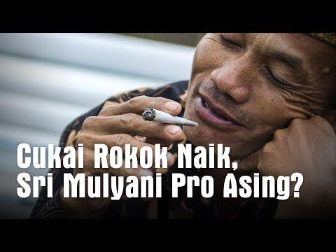 Cukai Rokok Naik, Sri Mulyani Pro Asing?