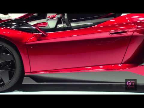 Lamborghini  Женевский автосалон 2012 Lamborghini Aventador J - 2012