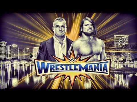 AJ Styles vs Shane McMahon Wrestlemania 33 Promo