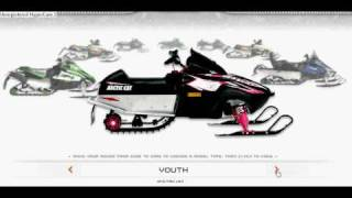 9. 2009 arctic cat  line up!