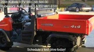 10. 2008 Kubota RTV 900 Diesel 4x4 - for sale in Lafayette, LA 7