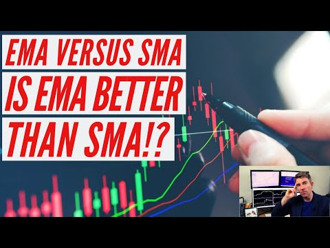 EMA vs SMA; When to Use One Over the Other (Comparing Simple vs. Exponential Moving Averages) ☝️