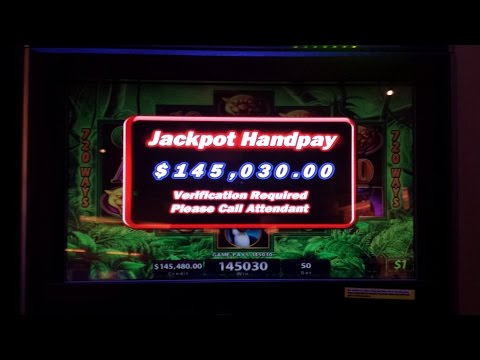 Prowling Panther Slot BIG WIN 2900x $145,000 Hand Pay $50 Spin