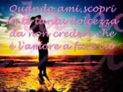 la più bella canzone d'amore (everytime we touch - cascada)