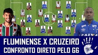 Nesta quinta-feira, a partir das 19h30, o Cruzeiro encara o Fluminense, pela 15ª rodada do Campeonato Brasileiro, no Rio de Janeiro. Confira as prováveis escalações para o duelo, deixe o seu palpite e diga o que você espera do jogo. AJUDA NÓIS! DEIXA SEU LIKE, COMPARTILHE O VÍDEO COM OS AMIGOS E SE INSCREVA NO CANAL! REDES SOCIAIS DO SEIS A UM:Facebook: https://www.facebook.com/canal6a1Instagram: https://www.instagram.com/seisaumTwitter: https://www.twitter.com/canal6a1