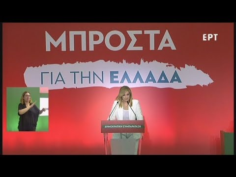 Αποσπάσματα ομιλιών από το συνέδριο της Δημοκρατικής Συμπαράταξης