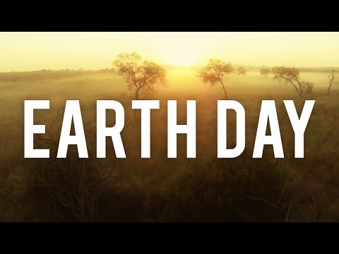 WATCH:  Today is Earth Day!!