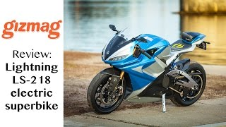 10. Review: Lightning LS218 - the world's fastest superbike is electric