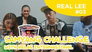 Video [Real Lee Diary #3] Samyang & Boncabe Challenge with Yoora, DK(Langston), Simon(Nicole) MP3, 3GP, MP4, WEBM, AVI, FLV Maret 2018