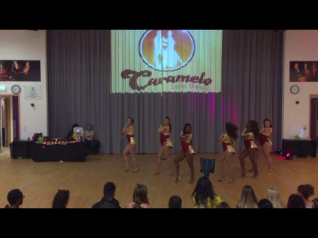 Caramelo Bachata Ladies Styling Student Team 28102017