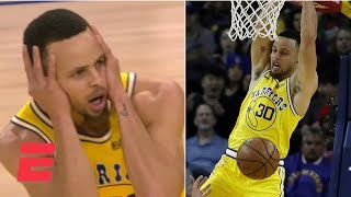 Steph Curry on dunk vs. Kings, in All-Star game: 'I got that now'   NBA Sound