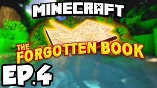 Minecraft: THE FORGOTTEN BOOK Ep.4 - FINDING THE FORGOTTEN BOOK!!! (Custom Adventure Map)