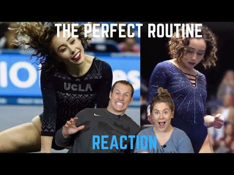 Olympic Champion Reacts to Katelyn Ohashi's Perfect  10.0 Routine   Shawn Johnson