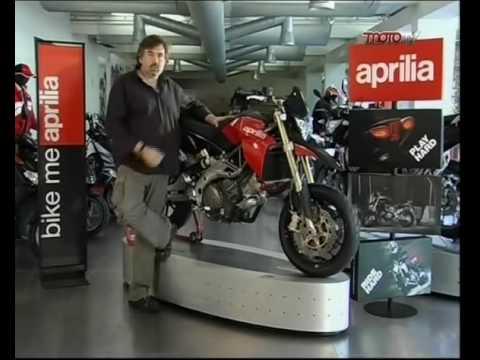 """Aprilia Dorsoduro 750 """"Costruttori di sogni"""" - MOTO TV parte 1 di 3"""