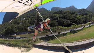 http://off2brazil.com has tested and filmed the hang gliding flight over Rio, just like if you were doing it! One of the most thrilling experience not to be missed if you come to Rio de JaneiroMore info about how to get to do Hang Gliding and paragliding in Rio de Janeiro, how much it costs, where to go: http://www.off2brazil.com/rio-de-janeiro-activities/691-paragliding-rio-de-janeiroMany other activities in Rio and all over Brazil at http://www.off2brazil.com/rio-de-janeiro-activitiesHang Gliding, paragliding, Hang Gliding Rio de Janeiro, Rio de Janeiro, brazil, flying, extrem sports, sugarloaf, corcovado