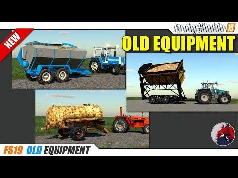 FS19 Oxbo Dump Cart v1.0