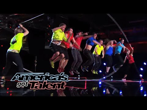 ~ America's - The jump rope team comes together for an acrobatic performance that wows the judges! Watch Flight Crew Jump Rope's amazing moves! » Subscribe: http://full.sc/IlBBvK » Watch America's Got...