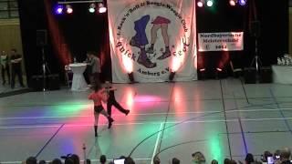 Lydia Herrich & Johannes Guha - Nordbayerische Meisterschaft 2014
