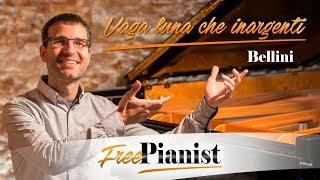 Vaga luna che inargenti  KARAOKE  PIANO ACCOMPANIMENT  Bellini