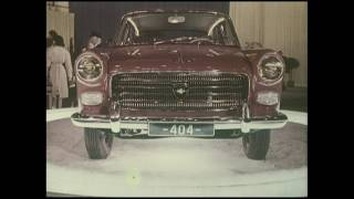 Peugeot 404 Official 1960 Launch Highlight Video