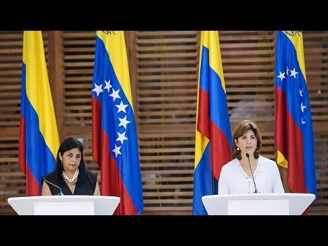 Κολομβία-Βενεζουέλα: Συνάντηση των υπουργών Εξωτερικών
