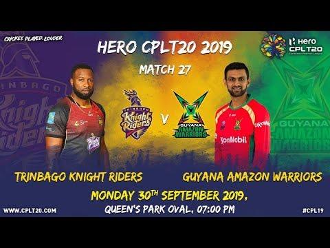 Match 27 Highlights | #TKRvGAW | #CPL19