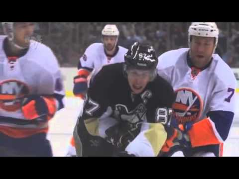 Crosby - Sidney Crosby Mic'd Up during an Islanders game. He also gets his first regular season goal against Nabokov.