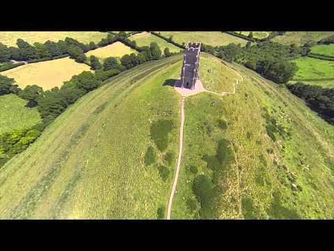 Glastonbury Drone Video