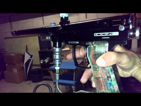32 Degrees Icon LED paintball gun .