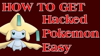 How to Get a Any Hacked Pokemon Easy with QR Codes - [X & Y