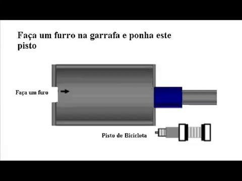 Tutorial Básico de uma arma de ar comprimido caseira (HomeMade AirGun)
