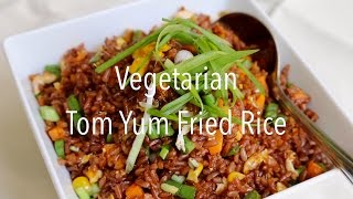 Tom Yum Vegetarian Fried Rice