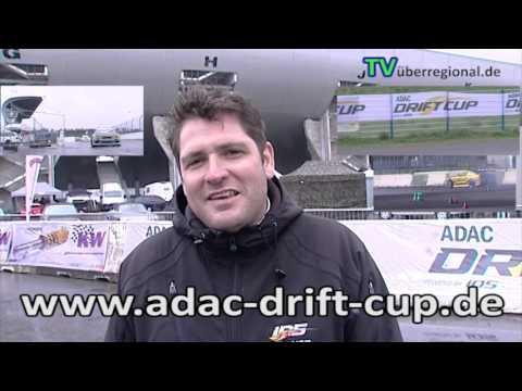 ADAC Drift Cup Hockenheimring an der Mercedes Tribüne - IDS Werbeansage