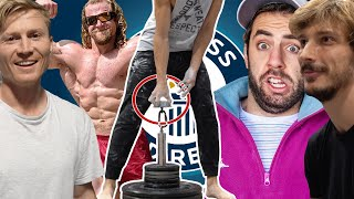 Random Guy Beat us All at GRIP STRENGTH - World Record? by Magnus Midtbø