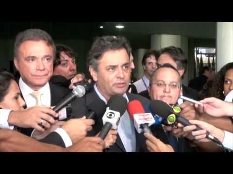 Aécio Neves: Pedro Taques representa um Senado independente