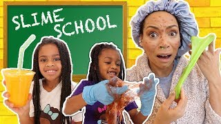 Video Slime School Sick Day ! - New Toy School MP3, 3GP, MP4, WEBM, AVI, FLV Juli 2019