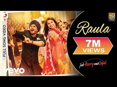 Raula Full Video - Jab Harry Met Sejal|Shah Rukh Khan, Anushka|Diljit Dosanjh|Pritam