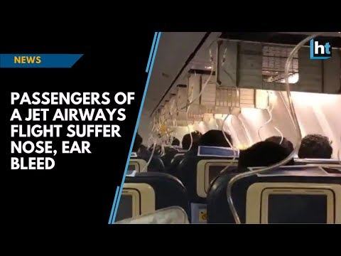 Video - Τρόμος στον αέρα για 30 επιβάτες - Έτρεχε αίμα από τις μύτες και τα αυτιά