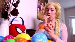 Video Frozen Elsa & Spiderman Popcorn Prank! W/ Pink Spidergirl, T-Rex - Godzilla & Joker! Superhero Movie MP3, 3GP, MP4, WEBM, AVI, FLV Desember 2018