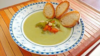 On this Occasion, We are going to show you how to make Cream of Zucchini Soup! It is very easy and very tasty. This Cream of...