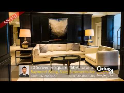 20 Scrivener Square #609, Toronto – Home for Sale by: Raymond Wong, Sales Representative