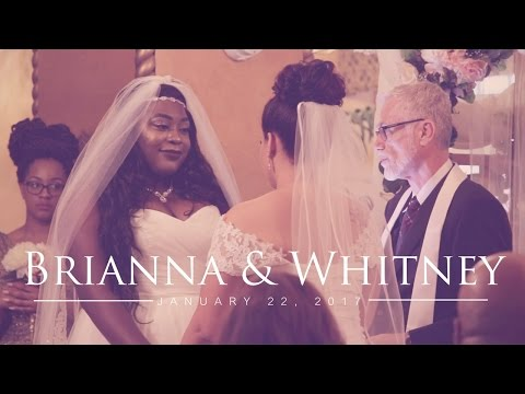 Brianna Whitneys Beautiful Lesbian Wedding Will Make You Cry Action News Abc Action News Santa Barbara Calgary Westnet Hd Weather Traffic