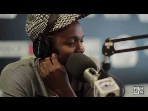 freestyle - You can't have one of the greats in with out asking them to spit a freestyle! Kendrick Lamar kills it! Power 106 YouTube Channel: Subscribe Now - http://bit....