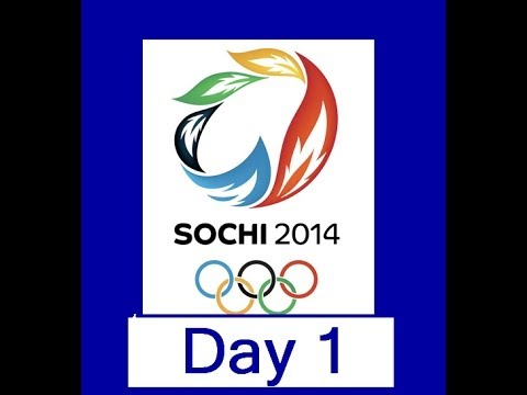 Sochi 2014 Olympics – (Day 1 Recap/ Podcast)