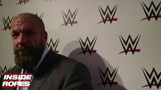 Video Triple H REVEALS what Vince McMahon thinks about WWE NXT & NXT UK plus discusses Women's division MP3, 3GP, MP4, WEBM, AVI, FLV Juli 2018